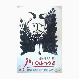 Faun - Vintage Poster - Picasso Exhibition in Milan 1953 1953