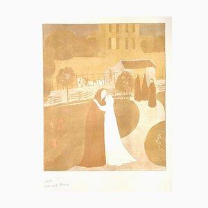 La Visitation à la Ville Montrouge - Original Lithograph by Maurice Denis - 1896 1896