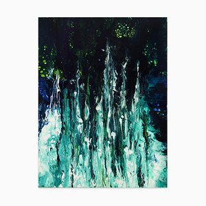 A World of Hope - Acrylic on Canvas by Elena Ksanti - 2019 2019