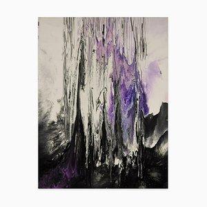 The Birth of Crystal - Acrylic on Canvas by Elena Ksanti - 2019 2019