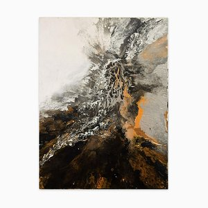The Birth of Dragon - Acrylic on Canvas by Elena Ksanti - 2019 2019