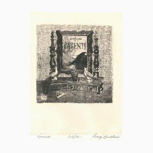 I Parenti (The Relatives) - Radierung von Luigi Bartolini - 1929 1929