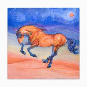 Horse - Original Öl auf Leinwand von Anastasia Kurakina - 2010 2010