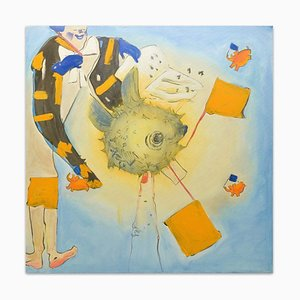 Clown - Original Oil on Canvas by Anastasia Kurakina - 2010 2010