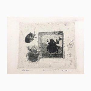 Scarabeo Ercole - Gravure à l'Eau-Forte par Luigi Bartolini - 1934 1934