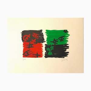 Untitled - Original Lithograph by G. Capogrossi - 1970 1970