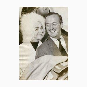 Der britische Schauspieler David Niven - Original Vintage Photograph - 1962 1962