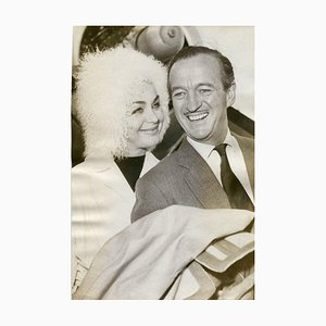 The British Actor David Niven - Original Vintage Photograph - 1962 1962