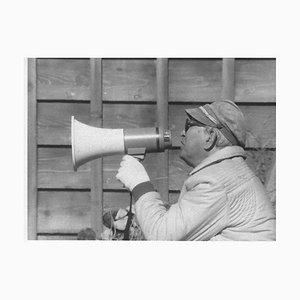 Der japanische Regisseur Akira Kurosawa - Original Vintage Fotografie - 1980er 1980er Jahre