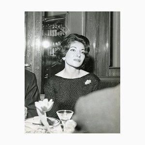Soulful Portrait of Maria Callas - Vintage Photo - 1960s 1960s