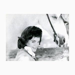 Retrato de Connie Francis - Foto vintage - años 60