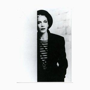 Portrait of Annie Lennox - Vintage Photographic Print on RC Paper - 1990s 1990s