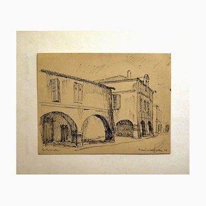 Rochelle - Bleistiftzeichnung von Maxime Juan - 1944 1944