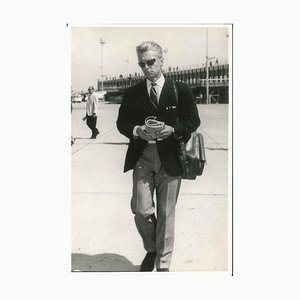 Herbert Von Karajan - Original Vintage Photograph - 1960s 1960s