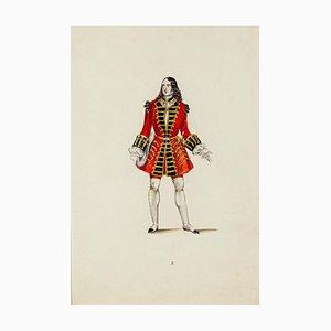 Modern Costume - Original Lithograph Late 19th Century Late 19th Century