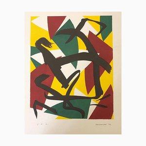 Composizione astratta, 1974