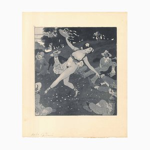 Erotic Scene VIII - Illustration 1907