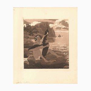 Erotische Szene III - Illustration 1907