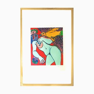Nude - Original Lithograph by G. Corneille - 1977 1977