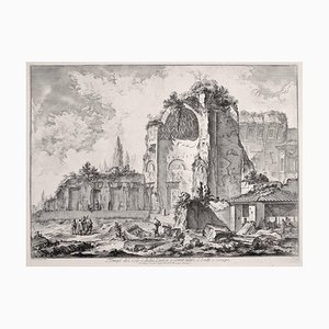 Temples of Iside and Serapi - Etching by G. B. Piranesi - 1759 1759