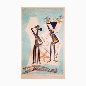 Etoile de Mer - Original Lithographie von Max Ernst - 1950 1950