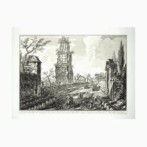Ruines d'une Tombe Antique - GB Piranesi - 1762 1762