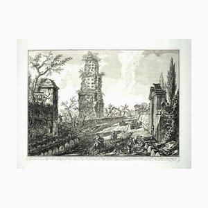 Ruins of an Ancient Tomb - G. B. Piranesi - 1762 1762