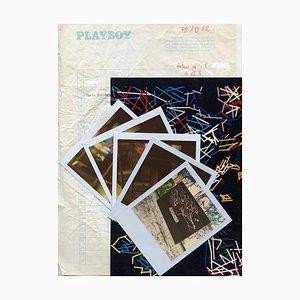 5 Polaroids by Mario Schifano - 1990s 1990s