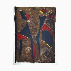 Composition III - Original Lithografie von Marino Marini - 1961 1961