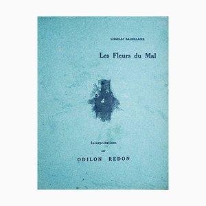 Fleurs Les Mal - Interprétations par Odilon Redon 1923