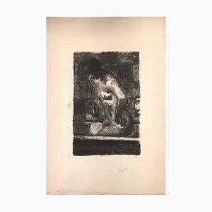 Femme Debout dans sa Baignoire 1925