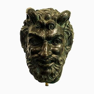 Satiro - Original Bronze Sculpture by Giulio Aristide Sartorio
