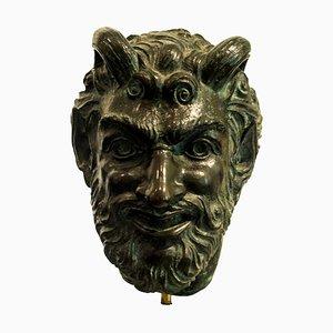 Satiro - Original Skulptur aus Bronze von Giulio Aristide Sartorio