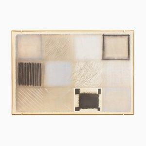 Composición - años 70 - Guido Strazza - técnica mixta - Contemporary 1979