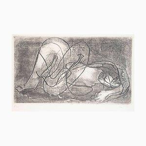 Nu - Original Etching by J. Fautrier - 1941 1941