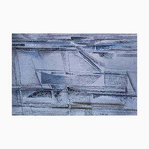 Libeccio (Southwest Wind) - Oil on Canvas -1954 1954