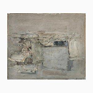 Grey Landscape - 1950s - Piero Sadun - Painting - Contemporary