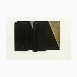 Dimore - 1970s - Giuseppe Uncini - Collage - Contemporary 1979