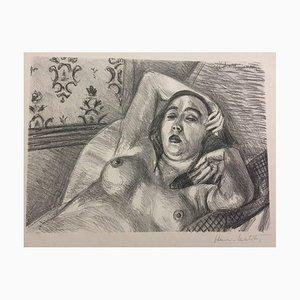 Le Repos du Modèle - Litografía original de Henri Matisse - 1922 1922