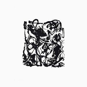 Sérigraphie originale par Untitled No. 6 par Jackson Pollock - 1951/64 1964