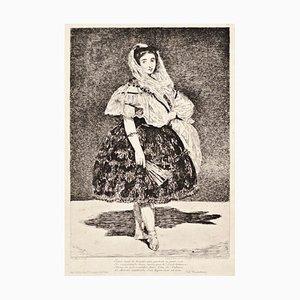 Gravure à l'Eau-Forte Lola de Valence par Edouard Manet - 1862 1862