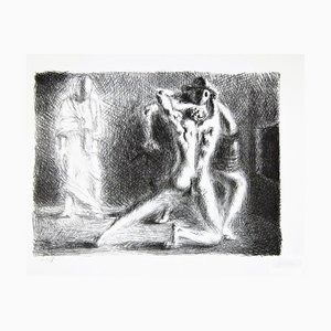 School of Gladiators II - Original Lithograph by Giorgio De Chirico - 1920 1920