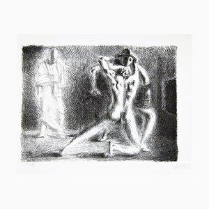 School of Gladiators II - Original Lithographie von Giorgio De Chirico - 1920 1920