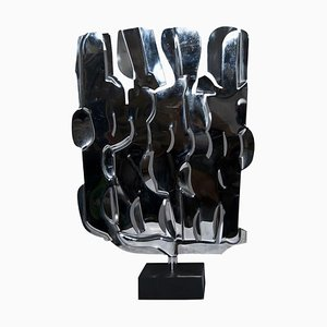 Drehskulptur - Original Skulptur aus Stahl von Pietro Consagra - 1975 1975