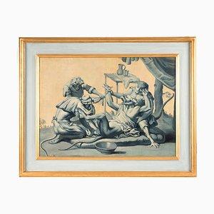 Dekorative Paneele einer antiken Apotheke - Öl auf Leinwand von A. Peyrotte Erste Hälfte bis 18. Jahrhundert