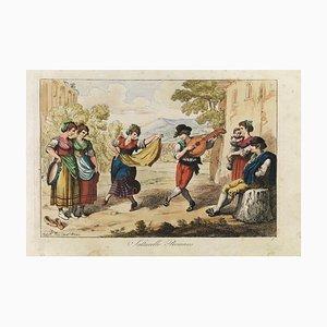 Nuova Raccolta di Cinquanta Costumi - Suite of Original Etchings by B. Pinelli 1815-16