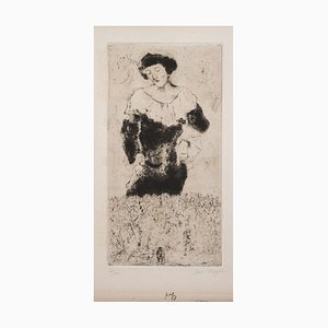 Bella - 1920s - Marc Chagall - Etching - Surrealist 1924