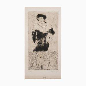 Bella - 1920s - Marc Chagall - Gravure à l'Eau-Forte - Surrealist 1924