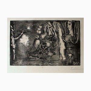 Dans l'Atelier - 1960s - Pablo Picasso - Etching - Modern 1965
