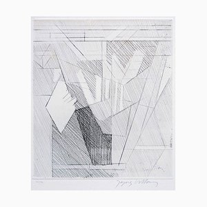 Les Deux Vasen - 20. Jahrhundert- Jacques Villon - Radierung - Modern